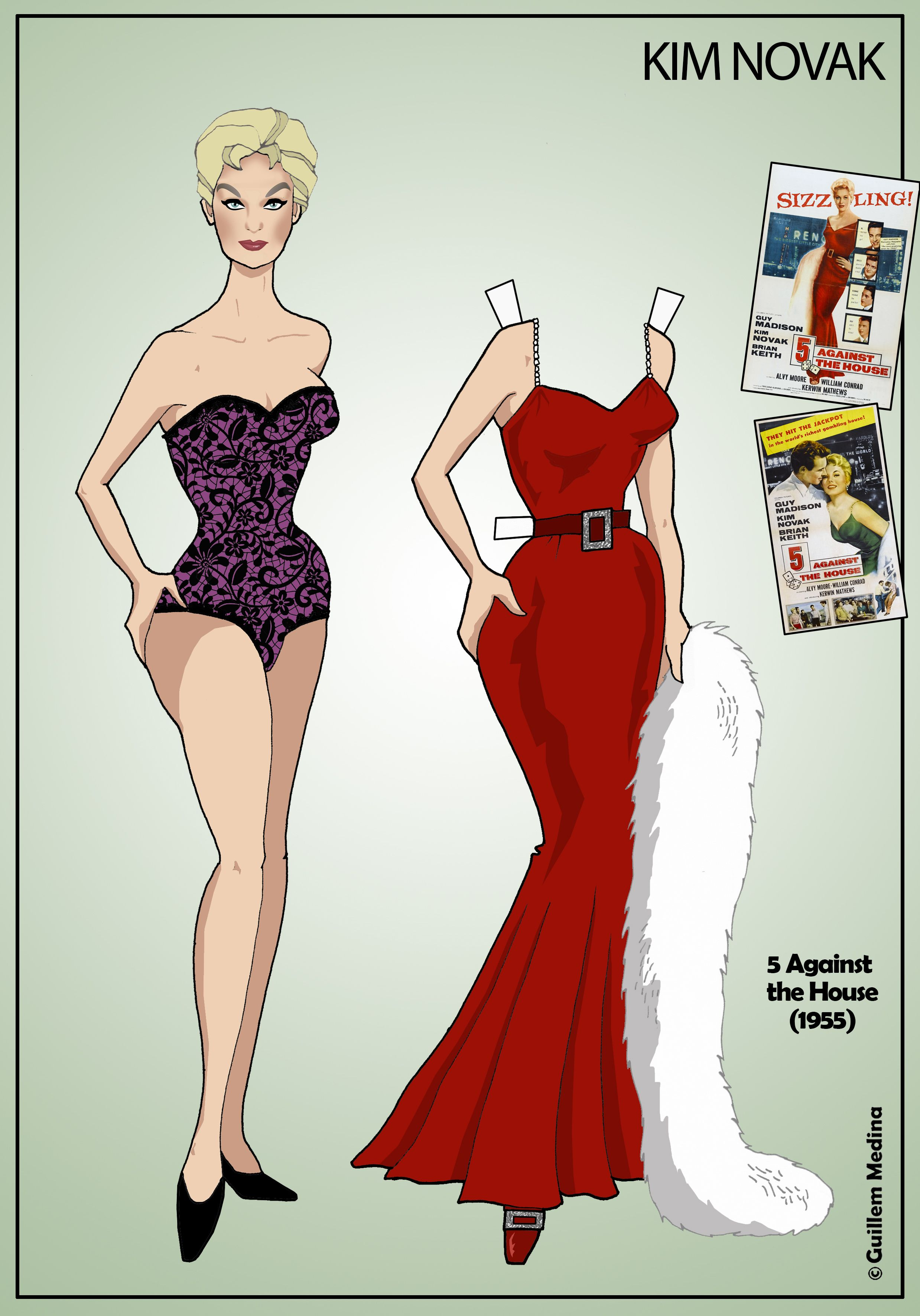 3332 Best Movie Star And Tv Paper Dolls