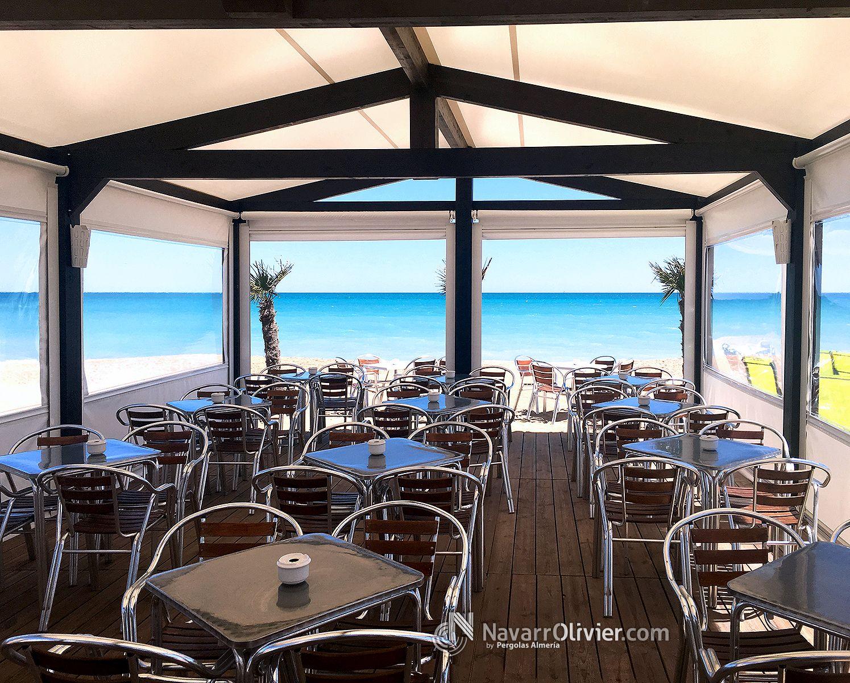 Pin de jose lopez en bares restaurantes chiringuitos - Toldos terraza bar ...