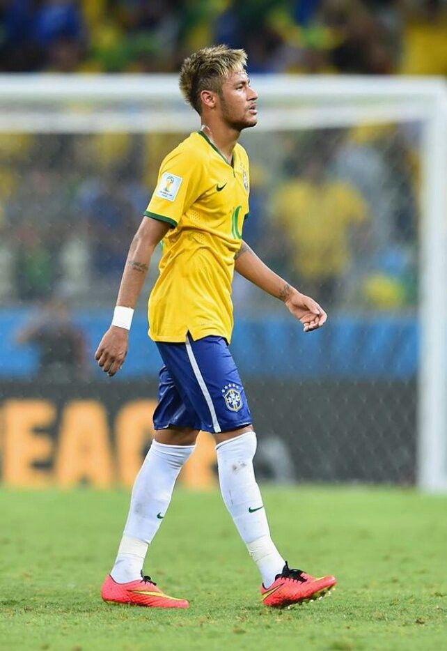 Blonde Hair Wowow Neymar Jr Neymar Soccer Players