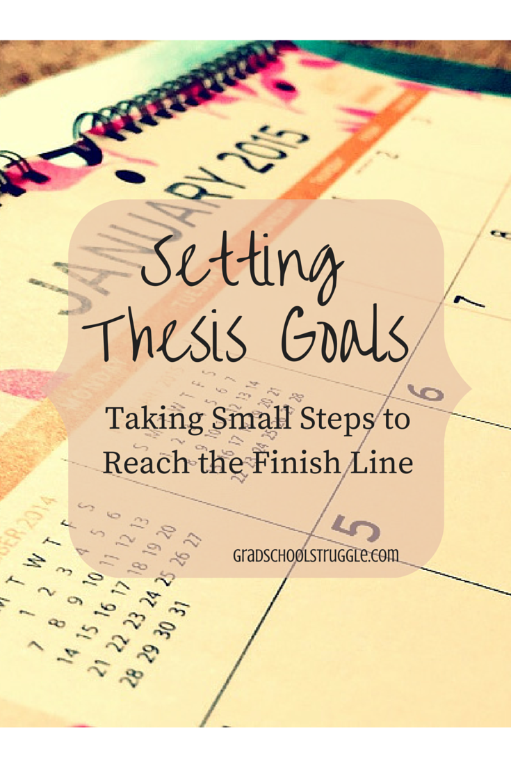 Setting Thesi Goal Writing Dissertation Motivation Write Your In 15 Minute A Day