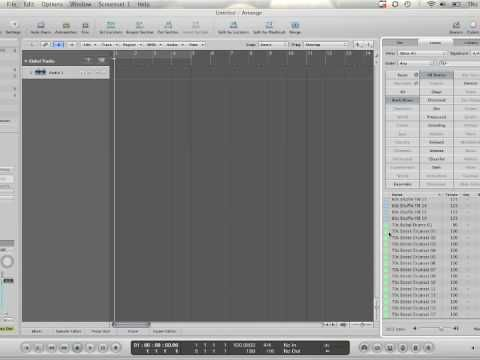 ASK Video Logic Pro 9 tutorial how to create a song