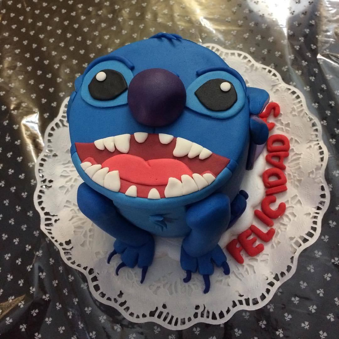 Tarta de Stitch