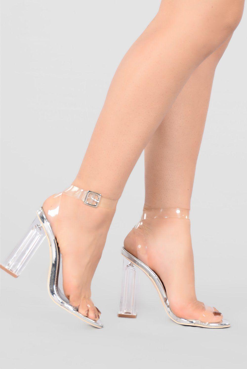 940ca559458 The Glass Slipper - Silver