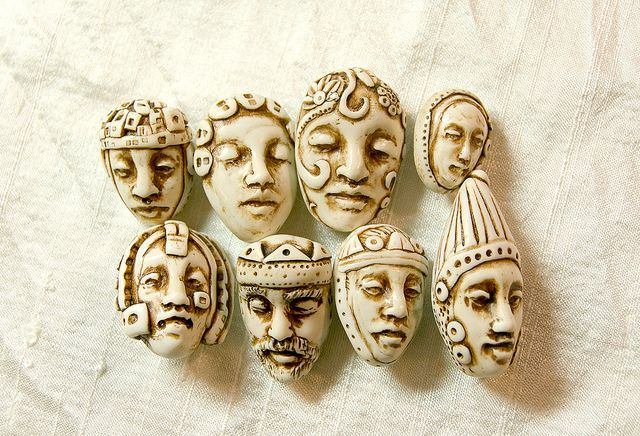face buttons by Selena Wells  http://www.flickr.com/photos/selenaanne/6212410355/