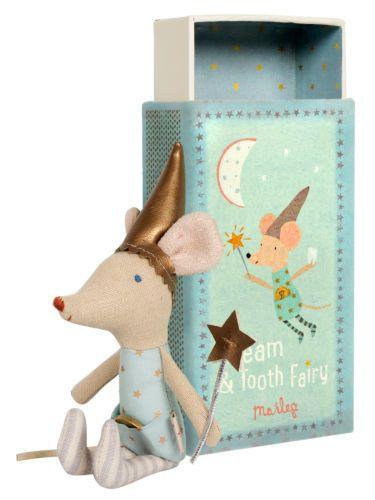 Maileg-Dream-Tooth-Fairy-Matchbox-Mouse-Boy-13cms