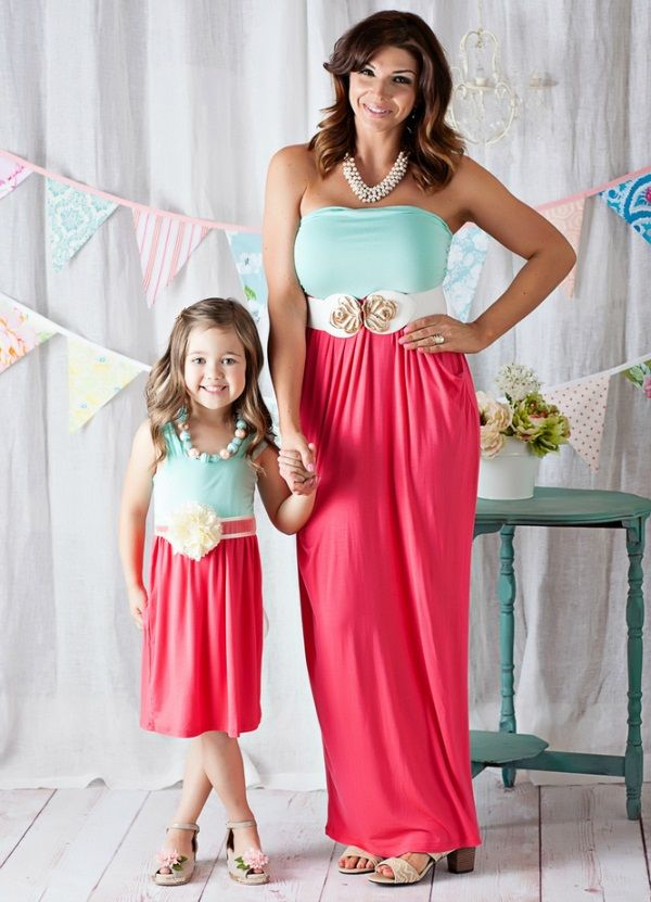 af476ff471 Too-Cute Mother and Daughter Easter Outfits | Easter Ideas | Easter ...