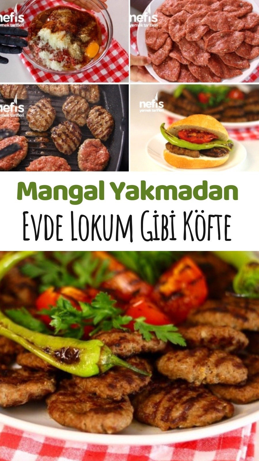 Photo of How to make Mangal Tadında Köfte (video) recipe? In the book of …