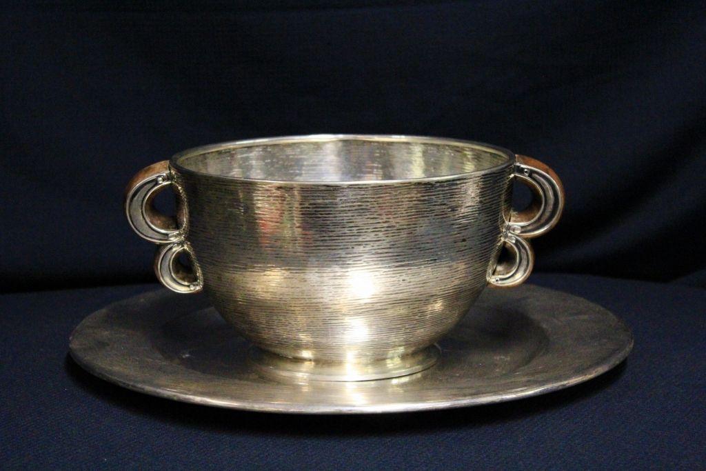 Mobili Argento ~ Centrotavola in argento anni 30 il balon antichità di claudio