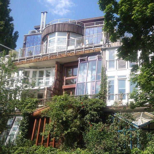 okohaus akohaus by frei otto 1982 freiotto berlin corneliusstraae architecture frankfurt ka eins