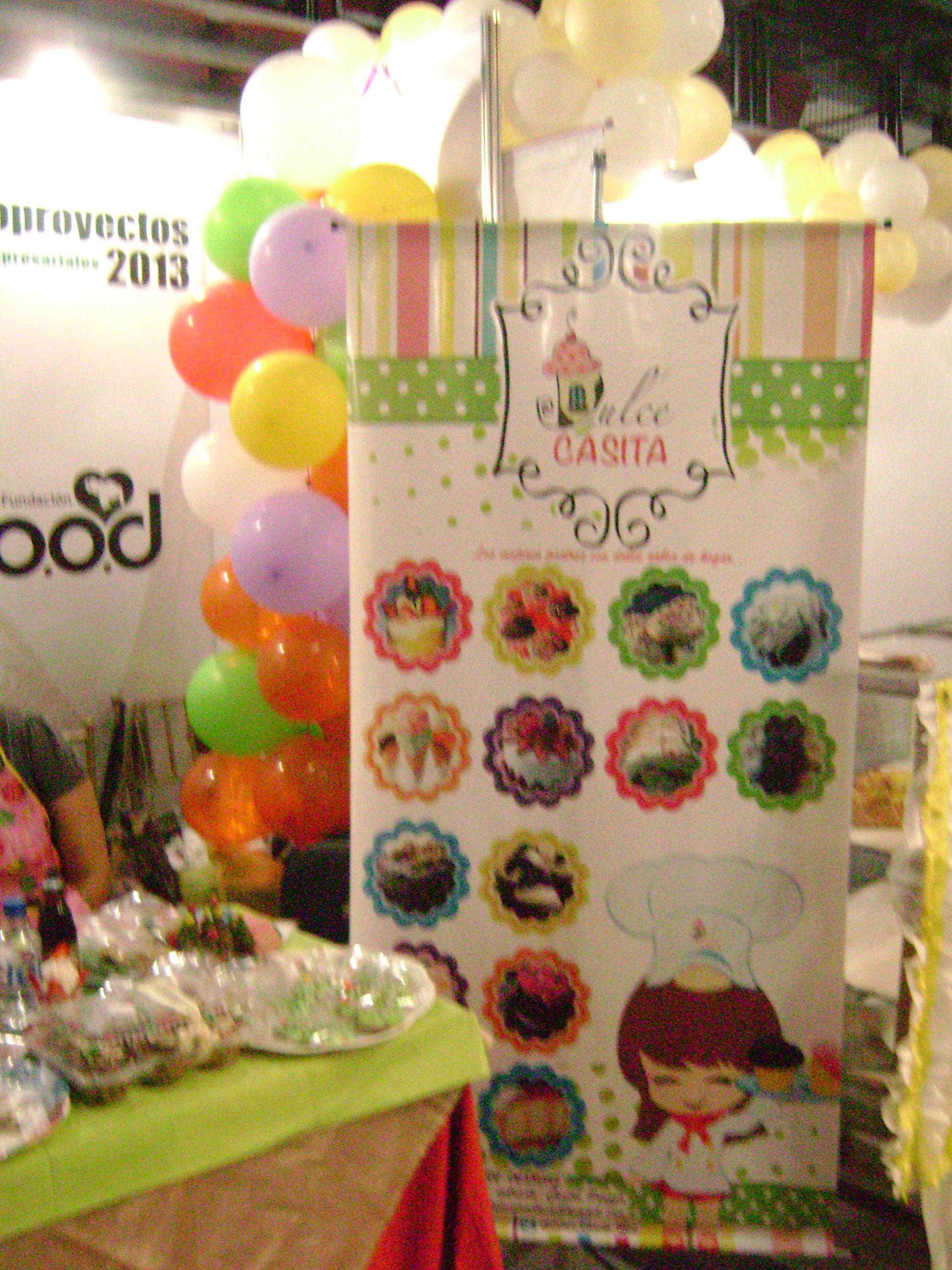 decoracion stand globos