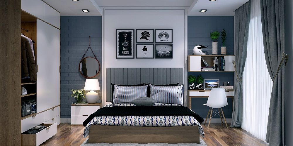 Design the interiors of your 2bhk flat in latest and modern style with the best home