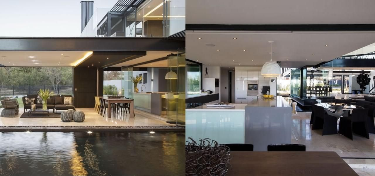 Beautiful Houses Ber House In South Africa Abduzeedo Graphic - Ber house in south africa