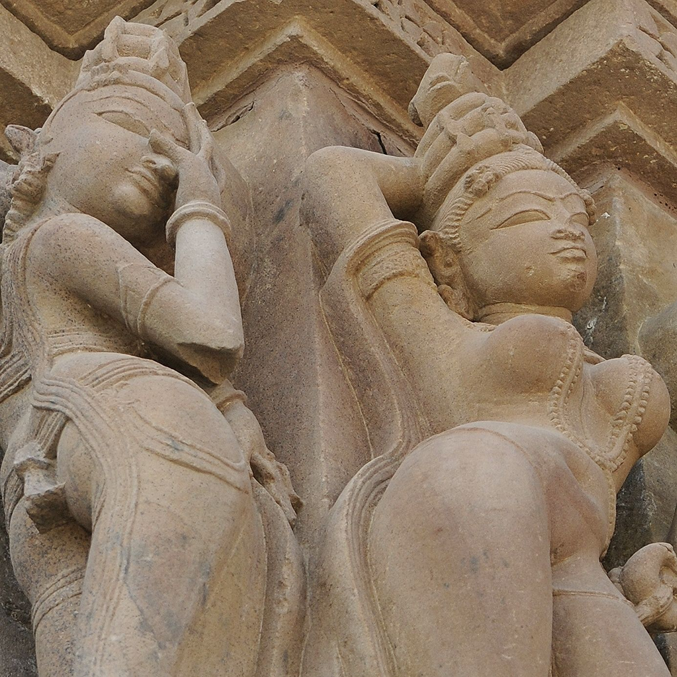 Khajuraho sculpture