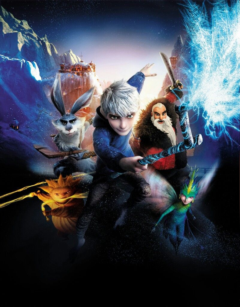 Rise Of The Guardians Textless Movie Poster Christmas Movie Posters Artwork Christmasmovies Christmas Mov Rise Of The Guardians Animation Movie Retro Film