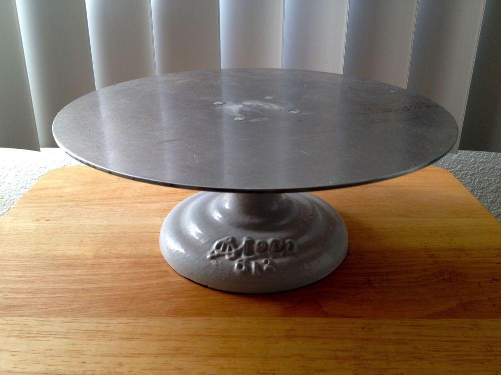 Ateco 612 metal 12 revolving cake stand ateco