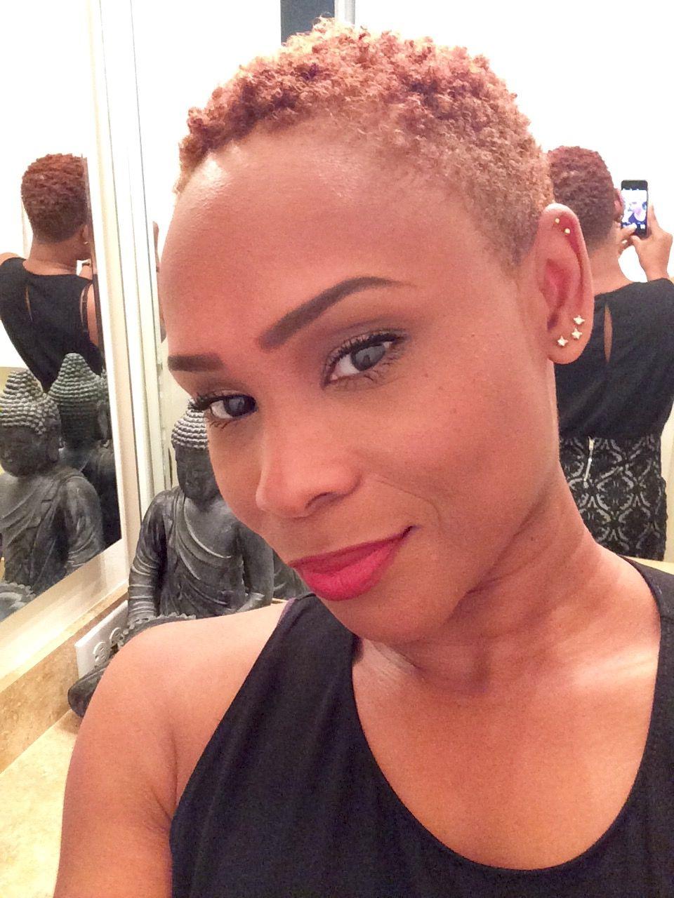 Twa Bigchop Naturalhair Short Fade Haircut Natural Afro Hairstyles Natural Hair Styles