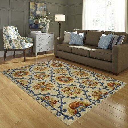 5fed7da5e73 Better Homes and Gardens Suzani and Vines Area Rug or Runner ...