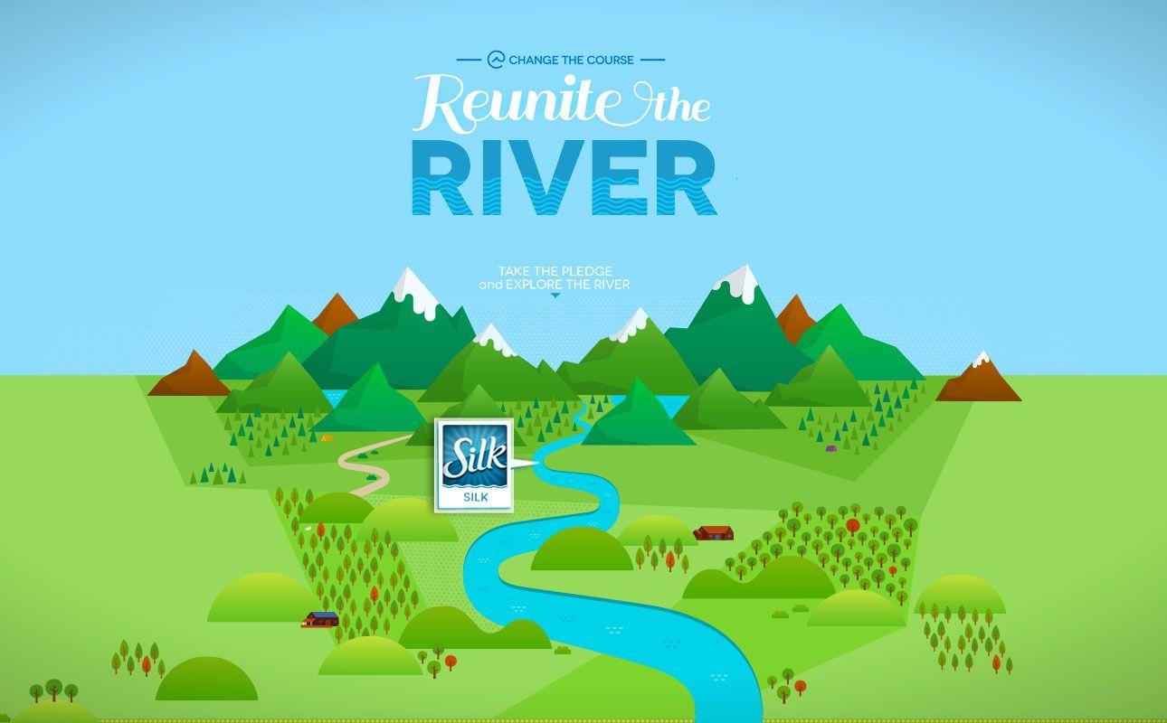 Reunite The River Timeline Anim Graphic Color Colorful