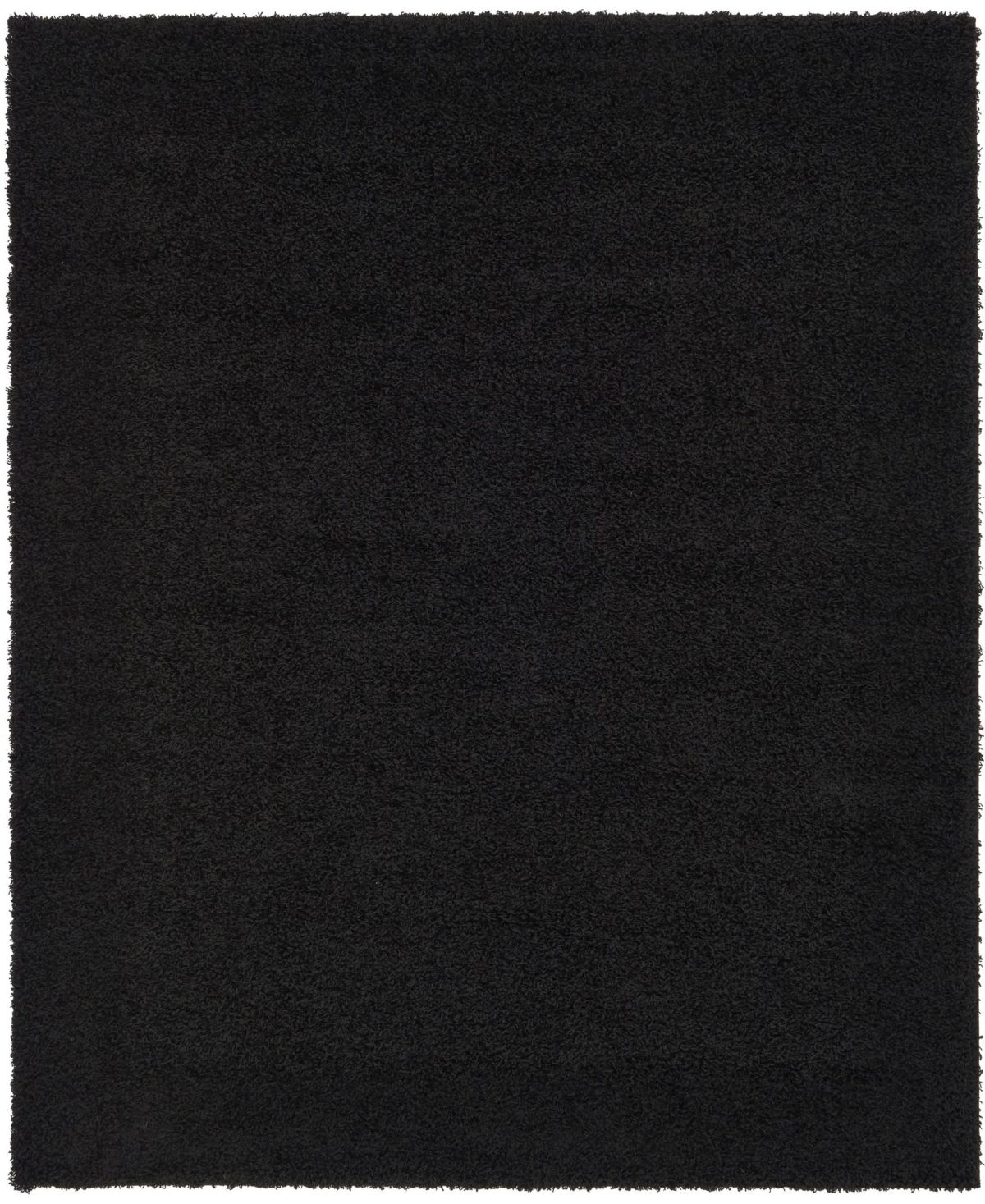 Bridgeport Home Exact Shag Exs1 Jet Black 8 X 10 Area Rug Jet Black In 2020 Area Throw Rugs Duralee Fabrics Black Area Rugs