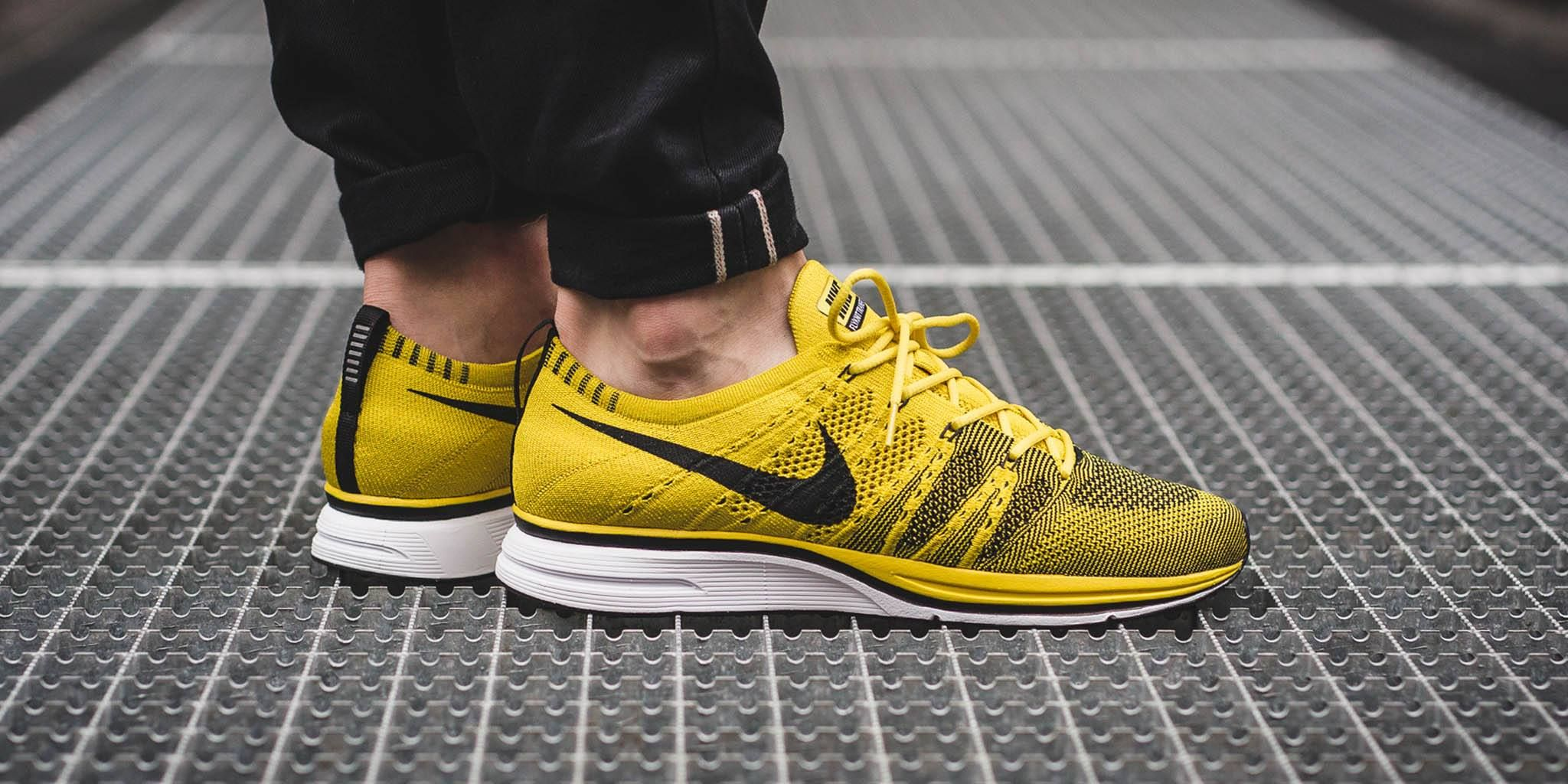 527030f6f58 Get Ready For The Nike Flyknit Trainer Bright Citron