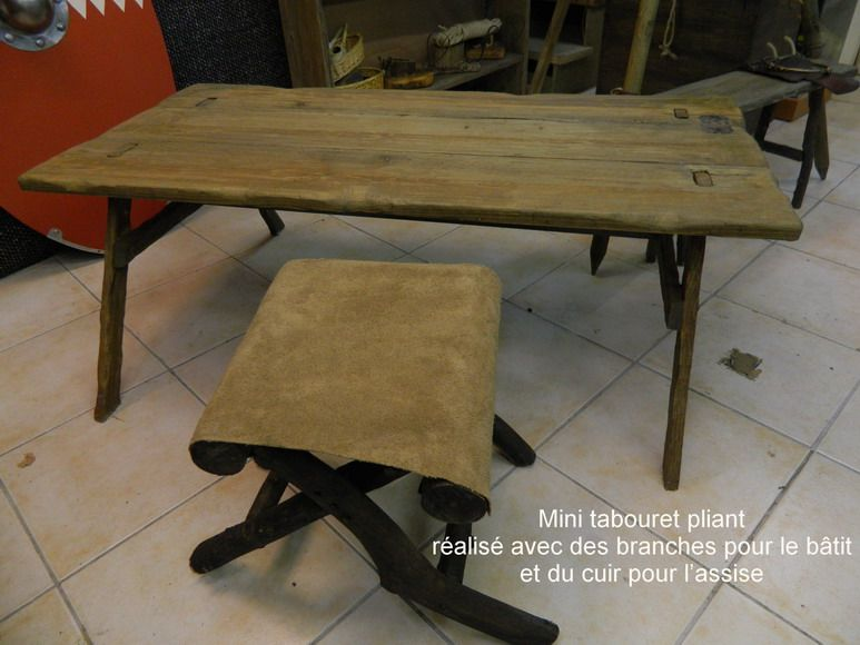 Table Basse En Bois Celte Table Basse Table Basse Bois Planche De Coffrage
