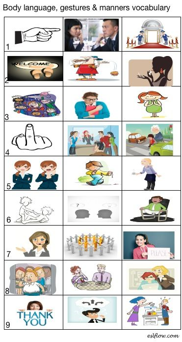 handout workshop body language Appropriate posture and body language friendly/appropriate tone eye contact   give out the worksheet included in the booklet linked below.