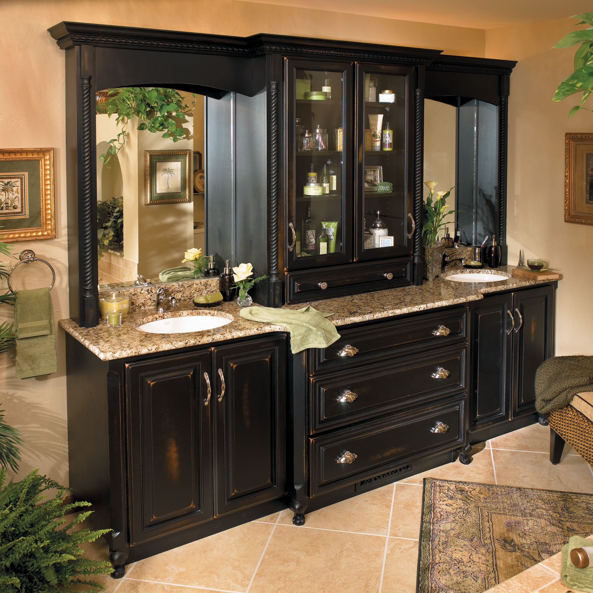 Stylish Master Bath Vanity Wow This Is Really Pretty Would