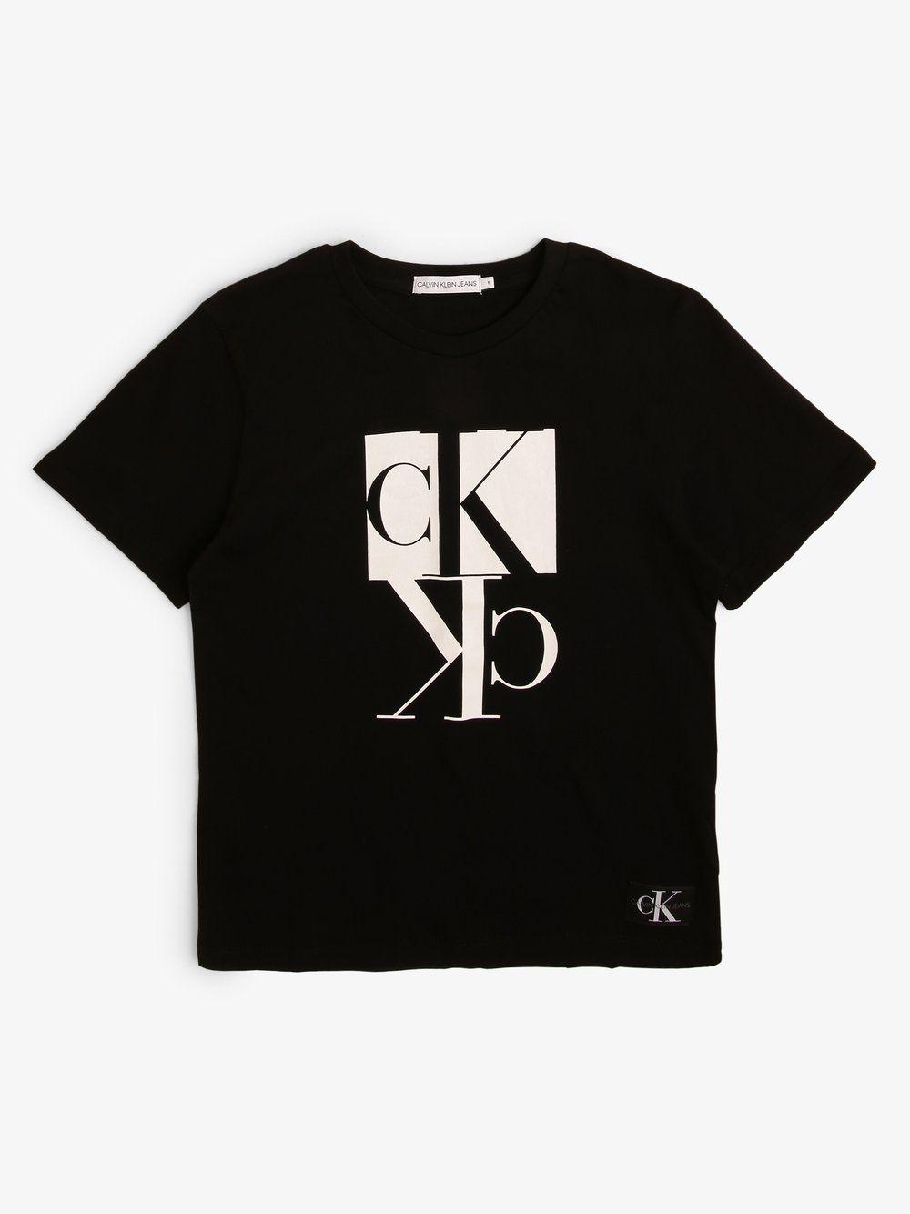 Calvin Klein Jeans Jungen T Shirt Online Kaufen In 2020 Shirts Jeans T Shirt