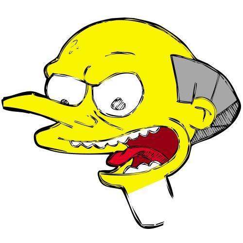 Monty Burns. The Simpsons.