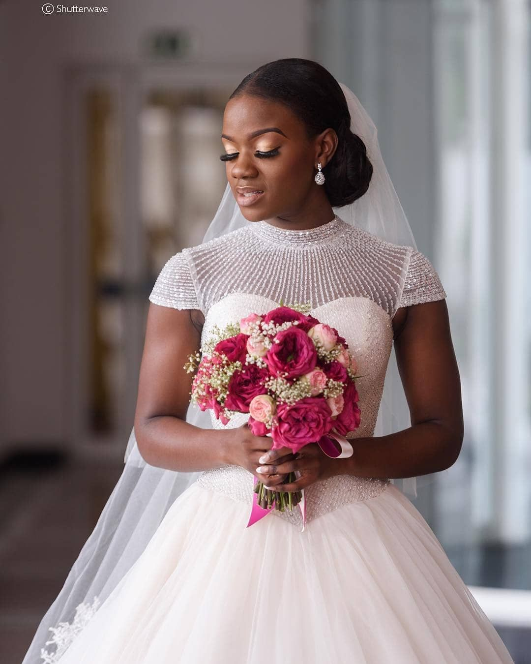 Africa S Top Wedding Website On Instagram So Gorgeous Tomileks Read More Www Bellanaijaweddings Or The Link In Our Bio Bride T0misin Dress
