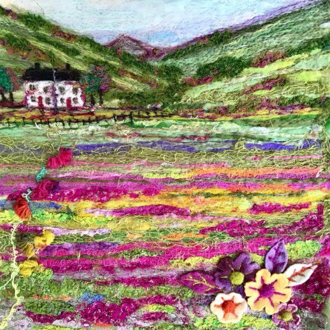 gill pinkney's charming felt creations #feltcreations