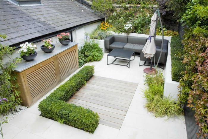 Gartenideen für kleine Gärten Wie Sie Ihren Außenbereich schöner machen Gartengestaltung  ~ 10083955_Gartengestaltung Ideen Für Kleine Gärten