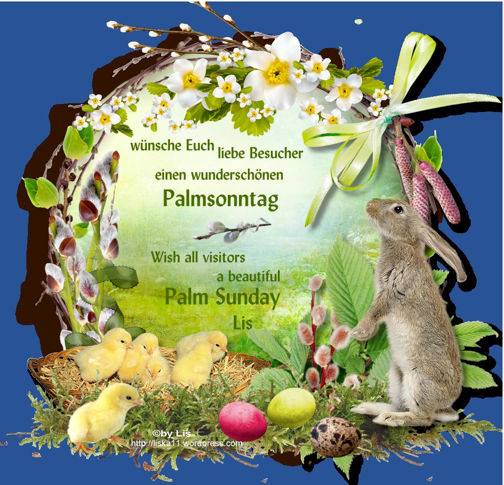 Palmsonntag Sprüche
