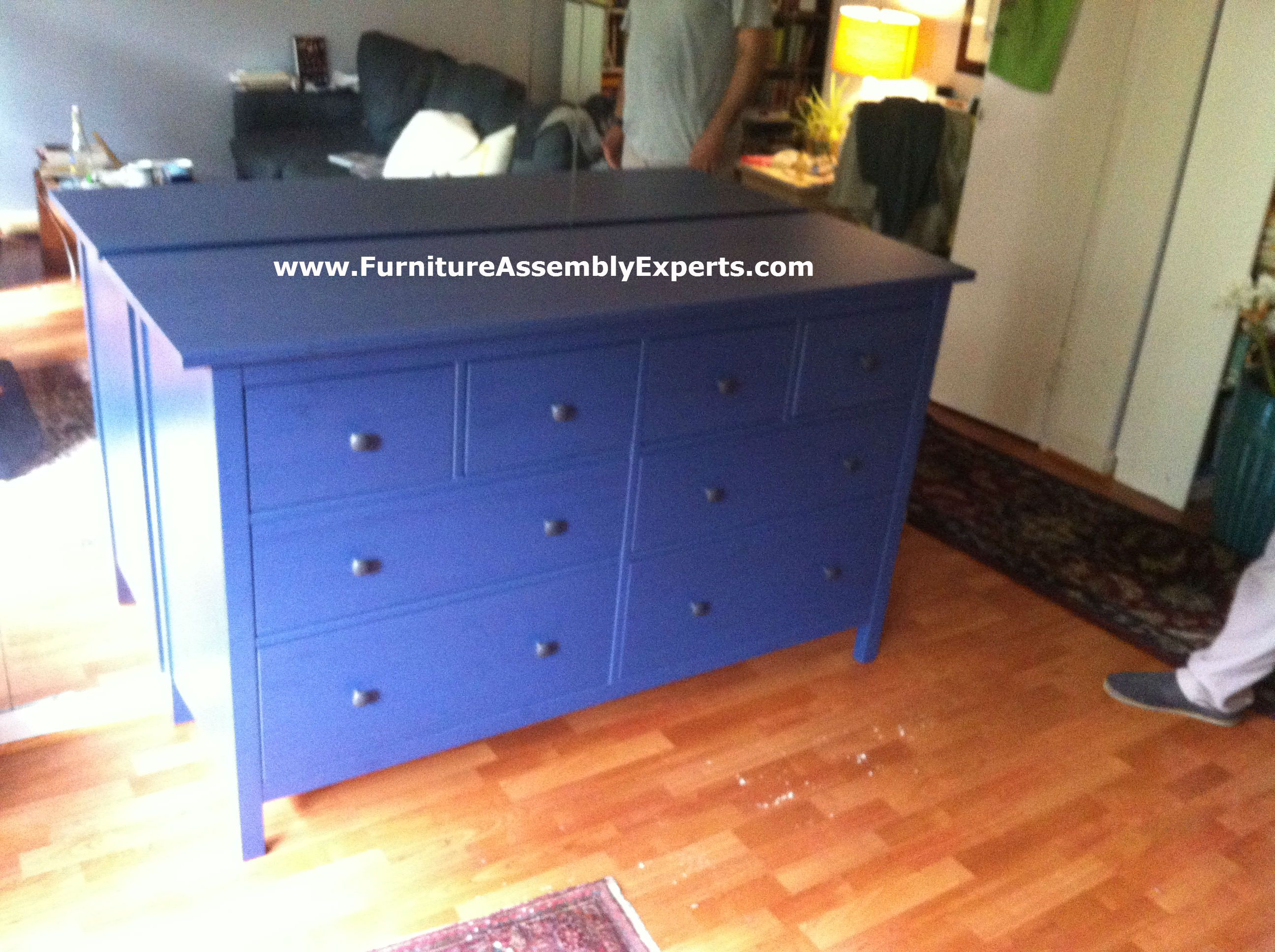 Ikea Hemnes 8 Drawers Dresser Embled In Reston Va By Furniture Embly Experts Llc Call