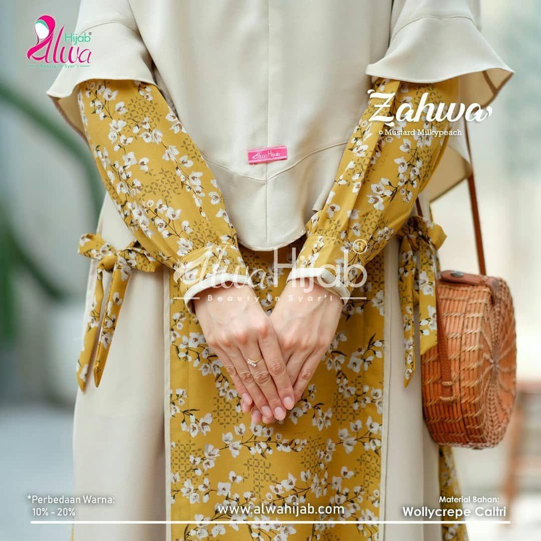 Jilbab Yang Cocok Untuk Baju Warna Mustard