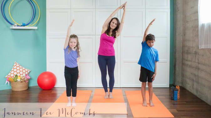 Bedtime Yoga: 12 Poses to Help Kids Sleep Better