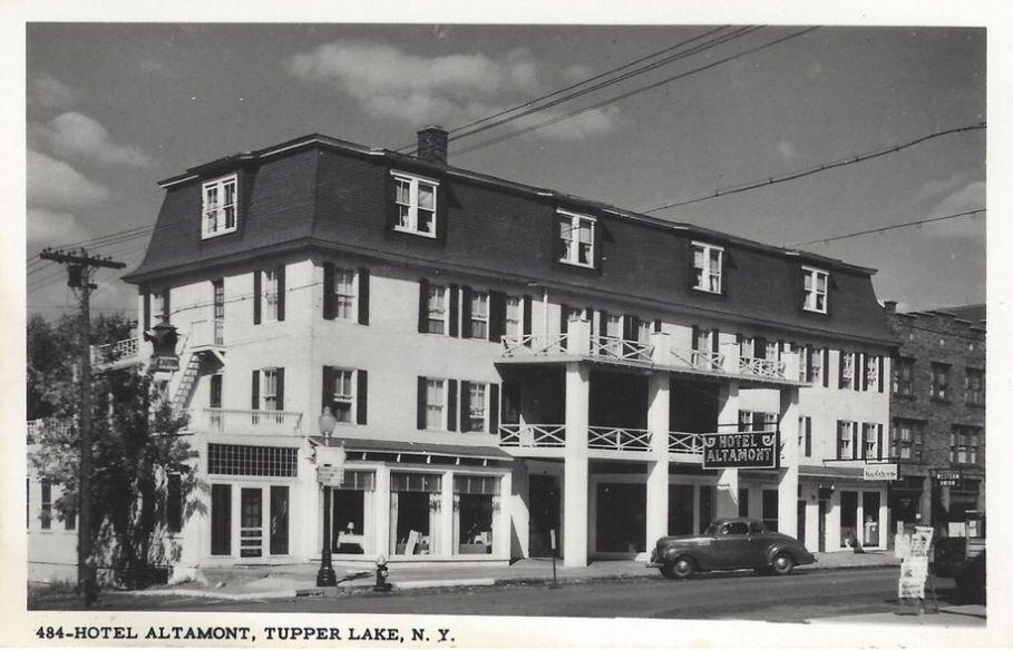 The Hotel Altamont Tupper Lake N Y