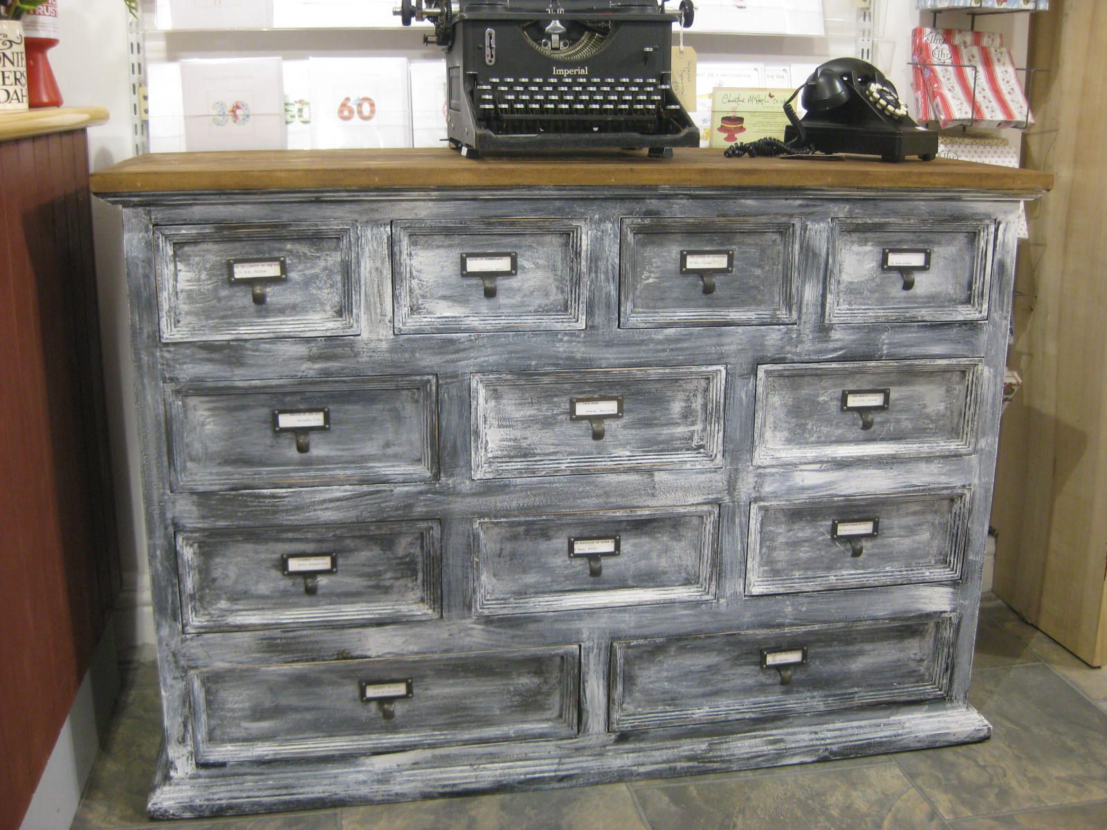Merchants chest painted and distressed using Annie Sloan ...