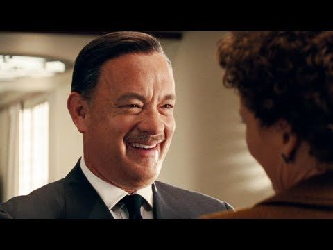 Saving Mr Banks Official Trailer 2013 Staring Tom Hanks John Schwartzman Asc Shot On Kodak 35mm Film Tom Hanks Movies Walt Disney Movies Tom Hanks