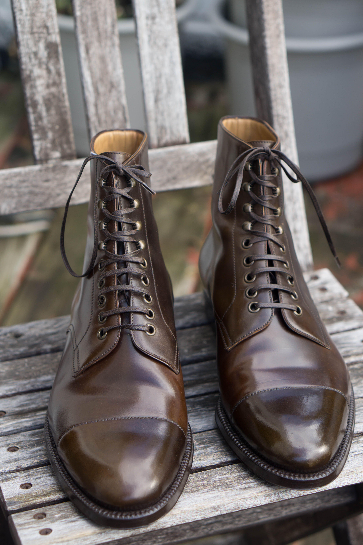 ec46b13f37b Enzo Bonafe shell derby boots | Men's footwear | Boots, Shoes, Dress ...