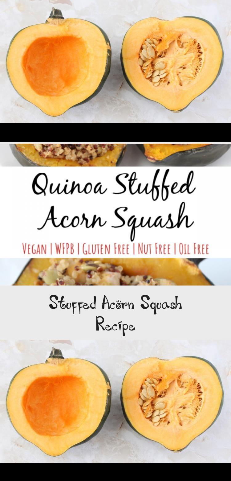 Stuffed Acorn Squash In 2020 With Images Squash Recipes Acorn