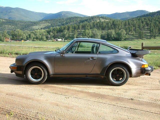 porsche 911 sc turbo look charcoal grey 1981 picture. Black Bedroom Furniture Sets. Home Design Ideas