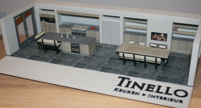 Dutch Company Tinello Lets You 3D Print Your Future Kitchen U2014 Or At Least A  Model