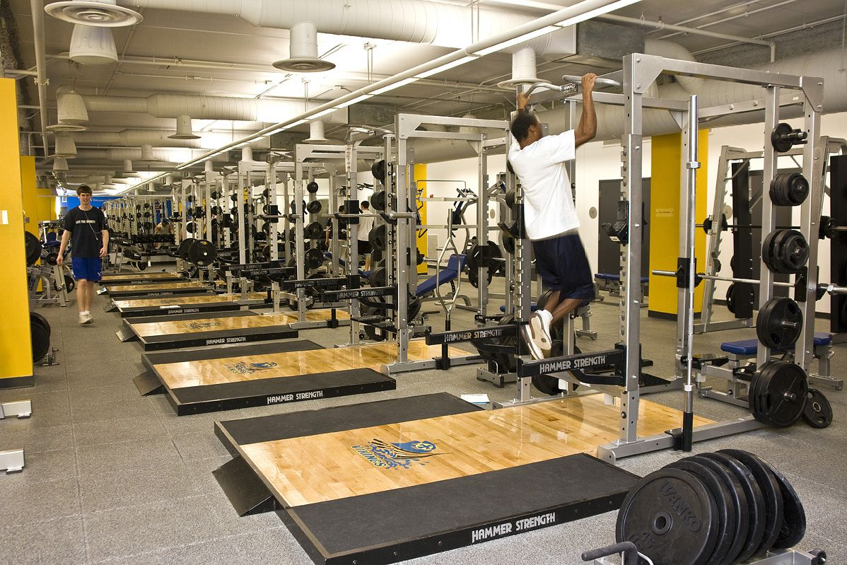 North Park University Helwig Recreation Center Weight