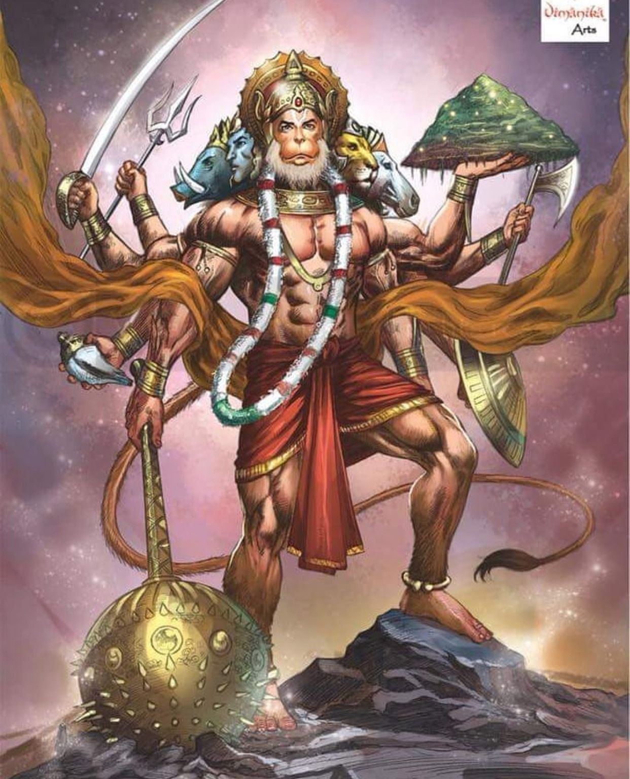 Jai Hanuman Hanuman Wallpaper Shri Hanuman Lord Hanuman