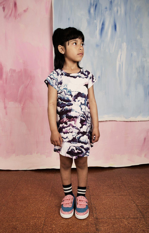 Mini rodini clouds dress