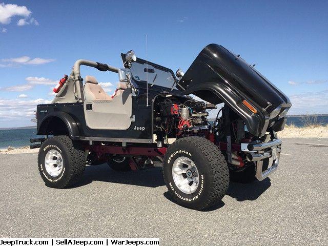 CJ-7 Jeep - 540 hp CAR SHOW AWARD WINNING JEEP Previous owner spent