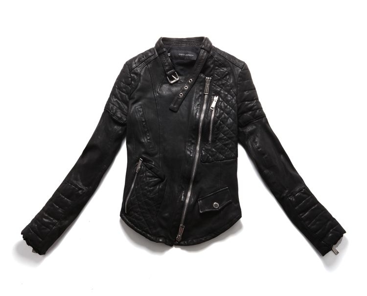 кожаная куртка женская косуха фото