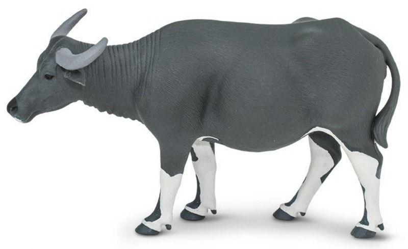 Safari Ltd Carabao Animals Figurines Wooden Animals