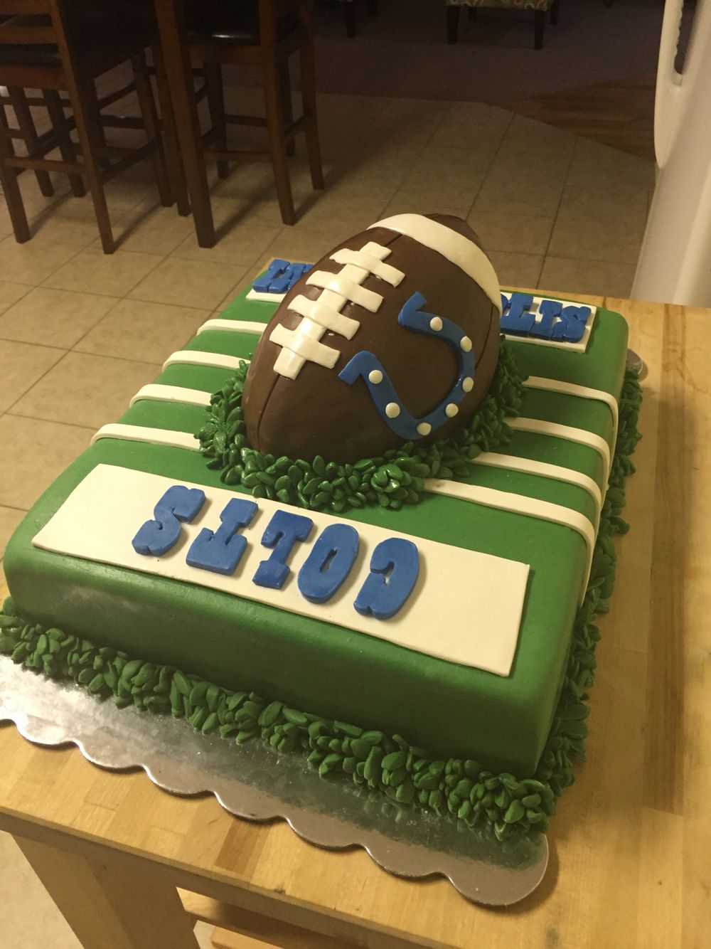 Indianapolis Colts Cake